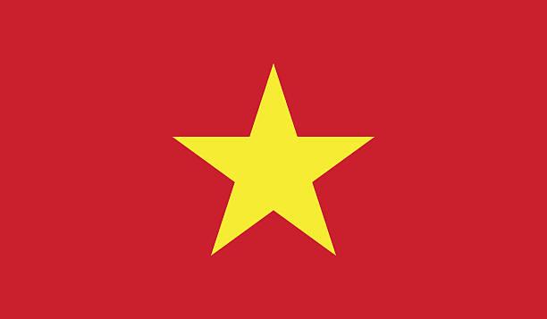 Vietnam flag Vietnam flag viet cong stock illustrations