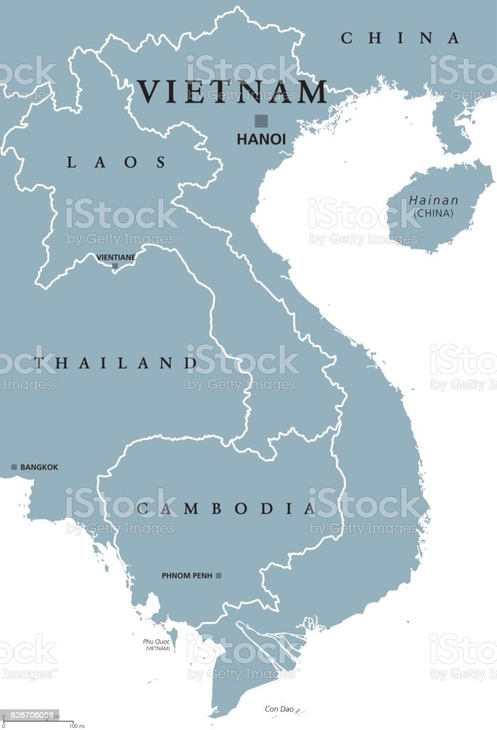 Picture of: Vietnam Political Map Stock Illustration Download Image Now Istock