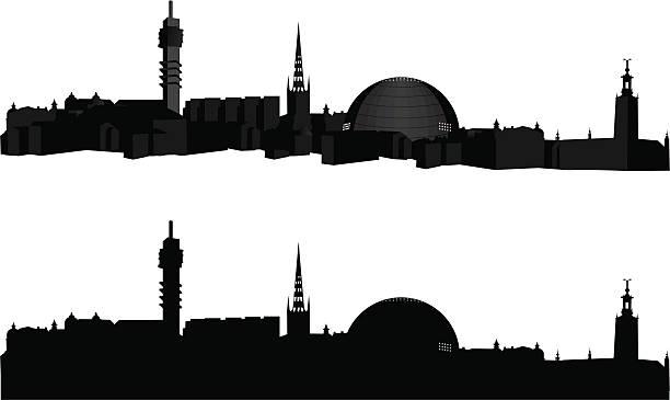bildbanksillustrationer, clip art samt tecknat material och ikoner med view - stockholm - stockholm