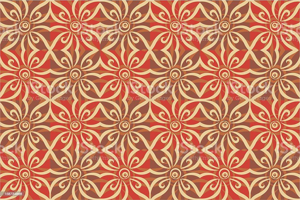 Vignette tile royalty-free stock vector art
