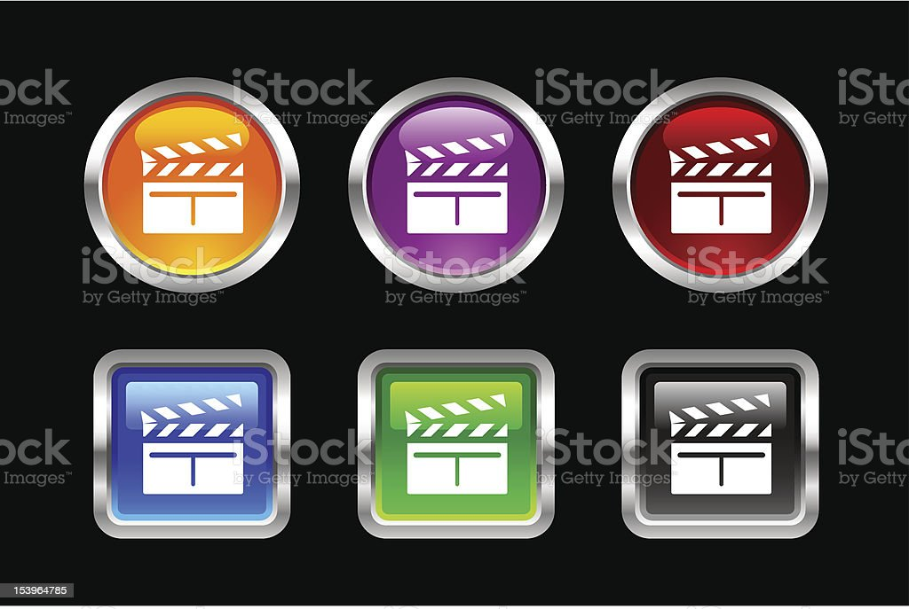 'Vii' Icon Series | Scene Board royalty-free stock vector art
