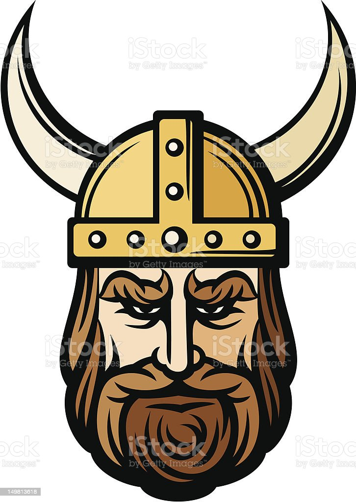 royalty free viking helmet clip art vector images illustrations rh istockphoto com Viking Helmet Silhouette viking helmet clipart