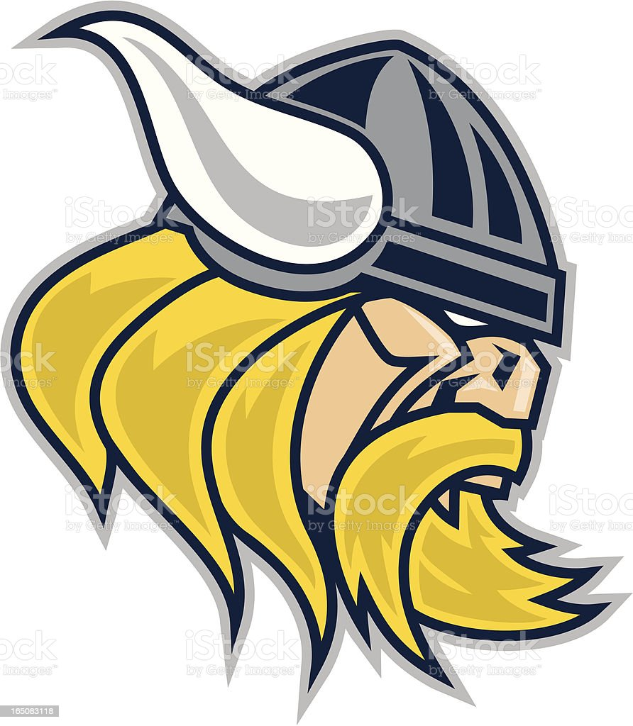 Viking Mascot royalty-free stock vector art