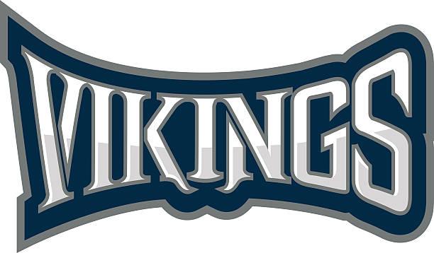 Vikings Logo vector art illustration
