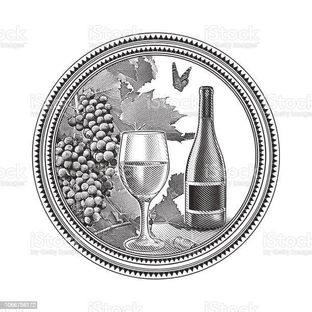 Vineyard grapes and glass of wine in circle frame vector id1066756172?b=1&k=6&m=1066756172&s=612x612&h=5qpgf1cvlxb6muqgsd6dc  0chtalc0mkwi1n vyk78=