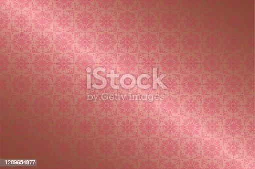istock vingatge seamless pattern background. 1289654877
