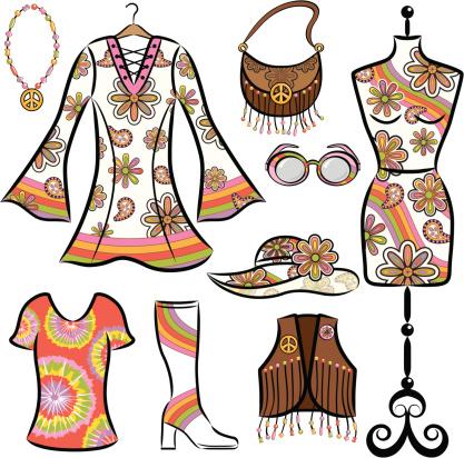 Vintage 1960's Clothing Set