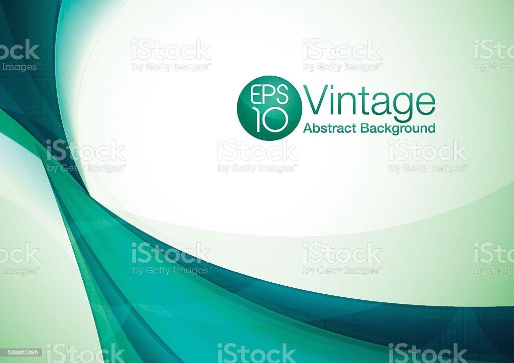 Vintage abstract background vector art illustration