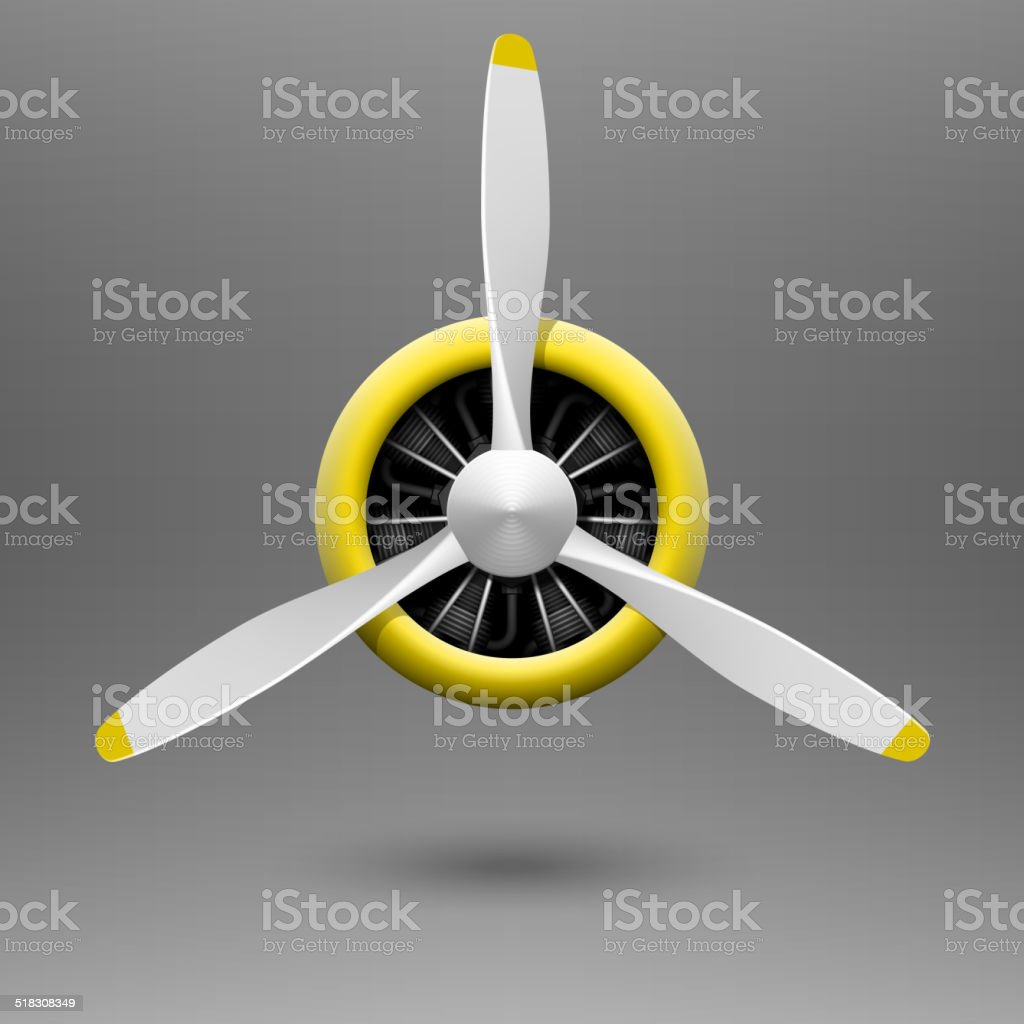 Royalty Free Airplane Propeller Clip Art Vector Images