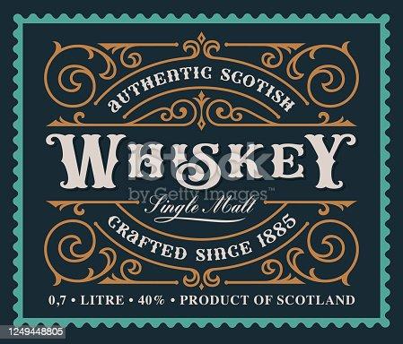 istock A vintage alcohol label design 1249448805