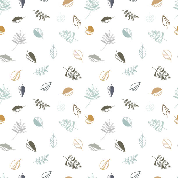 Vintage autumn leaves seamless pattern, fall themed background with abstract creative leaves and branches - great for seasonal fashion prints, fabrics, textiles, banners, wallpapers, wrapping paper Vintage autumn leaves seamless pattern, fall themed background with abstract creative leaves and branches - great for seasonal fashion prints, fabrics, textiles, banners, wallpapers, wrapping paper fall leaves stock illustrations