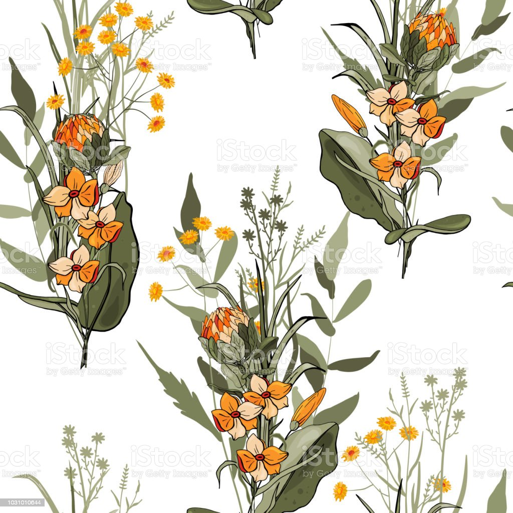 Ilustracion De Fondo Vintage Fondo De Pantalla Florecientes