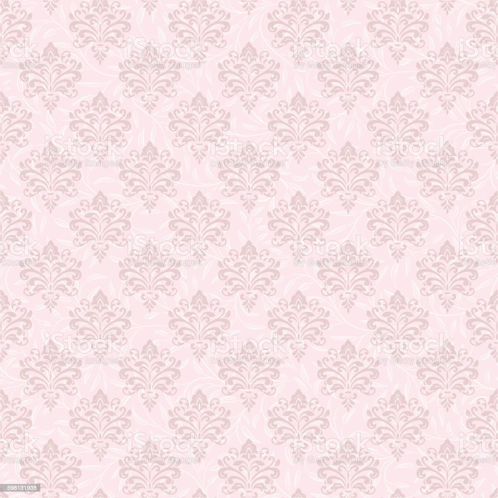 Vintage Background Wallpaper Seamless Overlapping Patterns Royalty Free