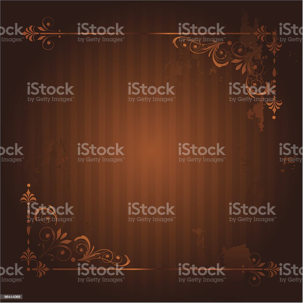 Vintage Background with Grunge Elements. royalty-free vintage background with grunge elements stock vector art & more images of abstract