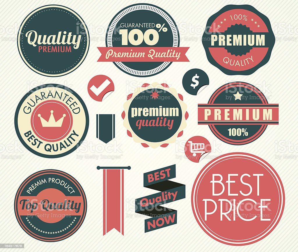 vintage badges royalty-free vintage badges stock vector art & more images of advice