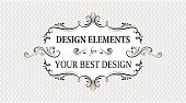 vintage banners and frames for you design