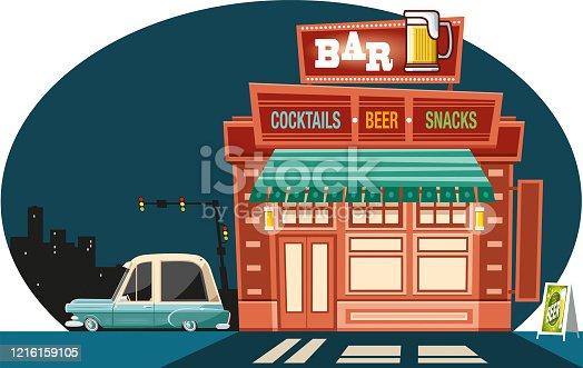 istock Vintage bar 1216159105