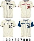 istock Vintage Baseball Jersey 502038611