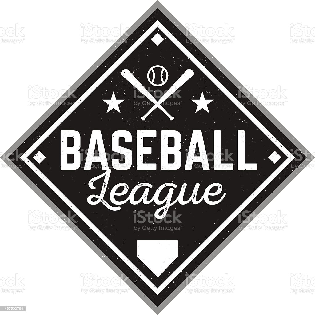 Vintage Baseball Logo royalty-free vintage baseball logo stock vector art & more images of 2015