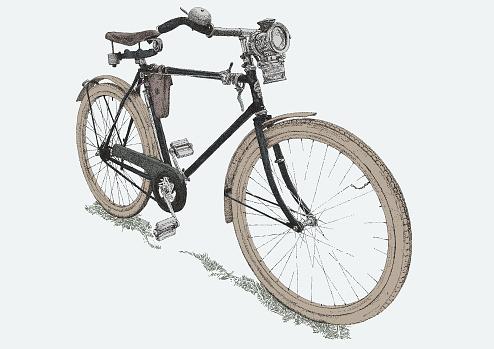 Vintage Bicycle 1950's
