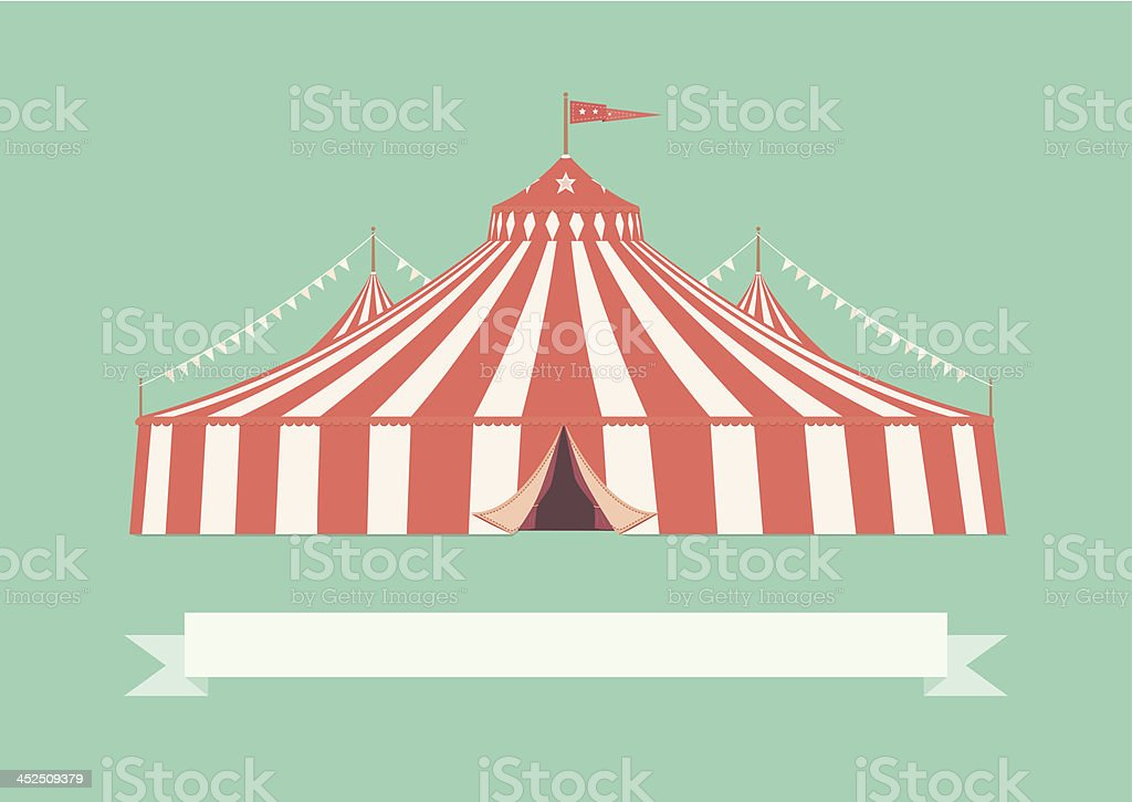 Vintage Big Top Circus Tent royalty-free vintage big top circus tent stock vector art  sc 1 st  iStock & Vintage Big Top Circus Tent Stock Vector Art u0026 More Images of ...