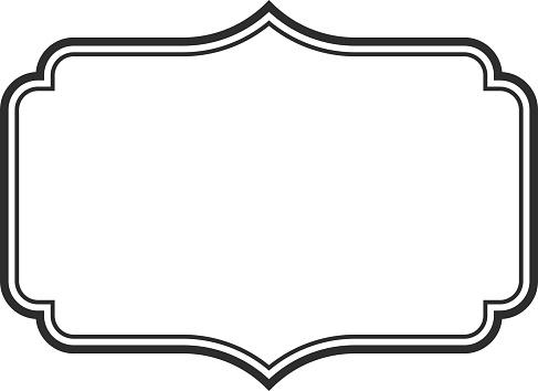 Vintage blank frames. Vintage labels mega collection. Sticker. Retro badge elements. Vector illustration.