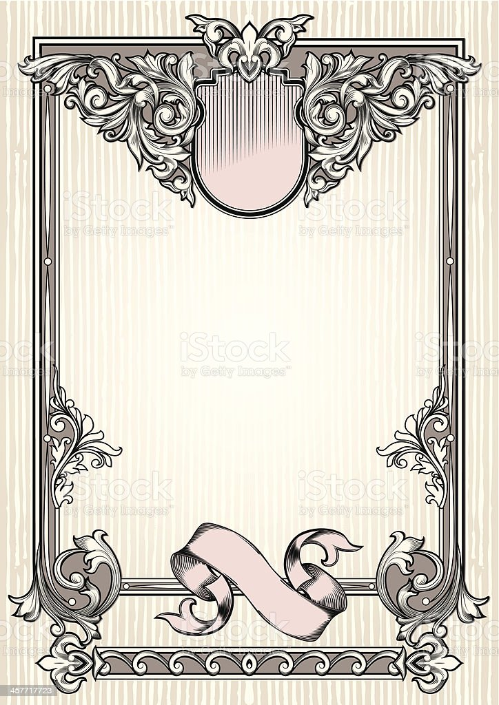 Vintage blank royalty-free vintage blank stock vector art & more images of abstract