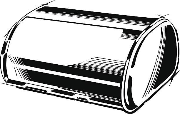 Royalty Free Bread Box Clip Art Vector Images
