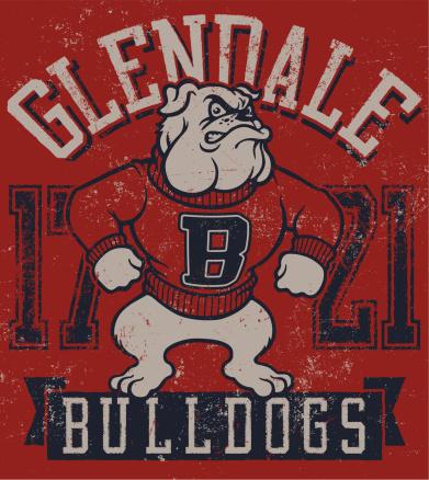 Vintage Bulldog Cartoon Mascot Design