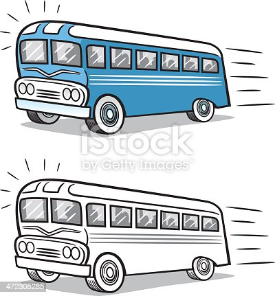 Great illustration of a vintage bus. Perfect for a transportation illustration. EPS and JPEG files included. Be sure to view my other illustrations, thanks!