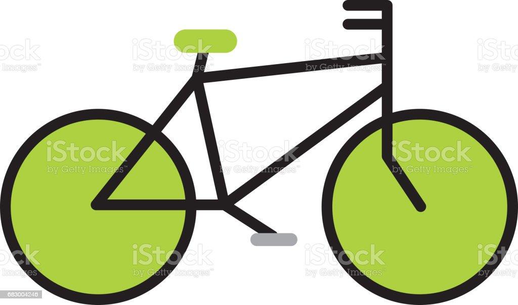 vintage bycicle vehicle vintage bycicle vehicle - arte vetorial de stock e mais imagens de atividade desportiva royalty-free