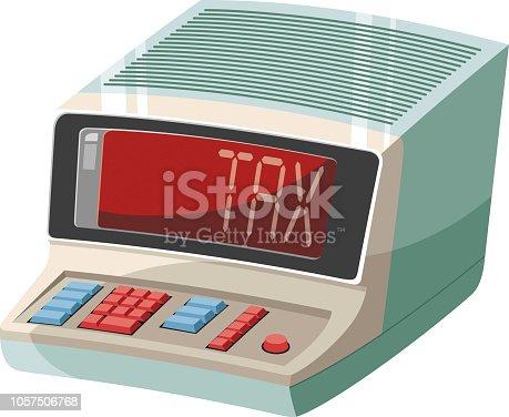 istock Vintage calculator 1057506768