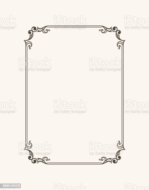 Vintage calligraphic frame black and white vector border of the vector id696046028?b=1&k=6&m=696046028&s=612x612&h=op2gw5znllaayyqcj4bccgdpj6odmdfq 6oggljhf9w=