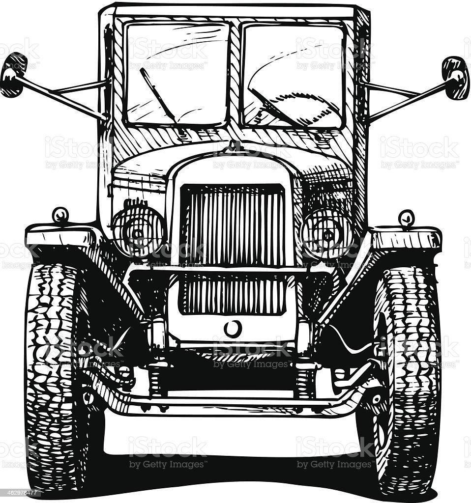 vintage car royalty-free vintage car stock vector art & more images of 1930-1939