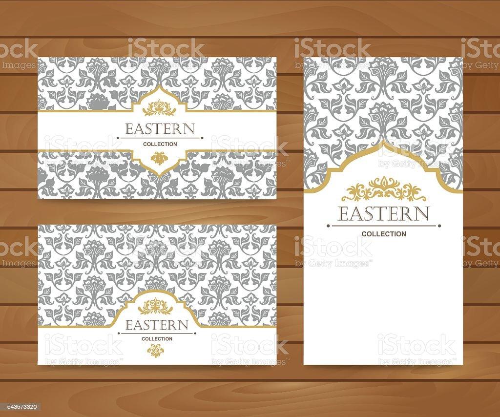 Vintage Card Design For Greeting Card Invitationbanner Business ...