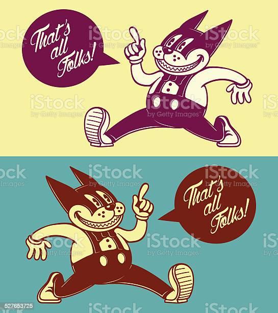 Vintage cartoon cat character walking with speech bubble 50s ads vector id527653725?b=1&k=6&m=527653725&s=612x612&h=ujeyam7y2 m1lekto4ojsegx4eyt2ucgvpayxtgqmum=