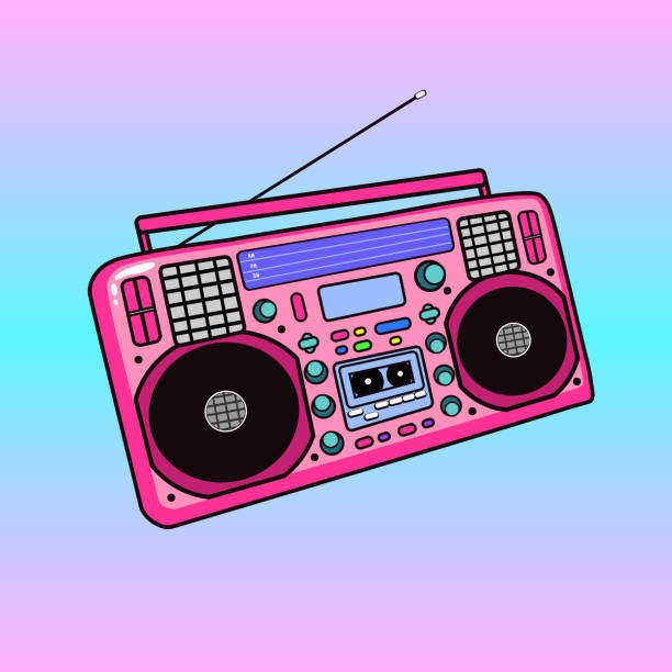 Royalty Free Tape Recorder Clip Art, Vector Images ...