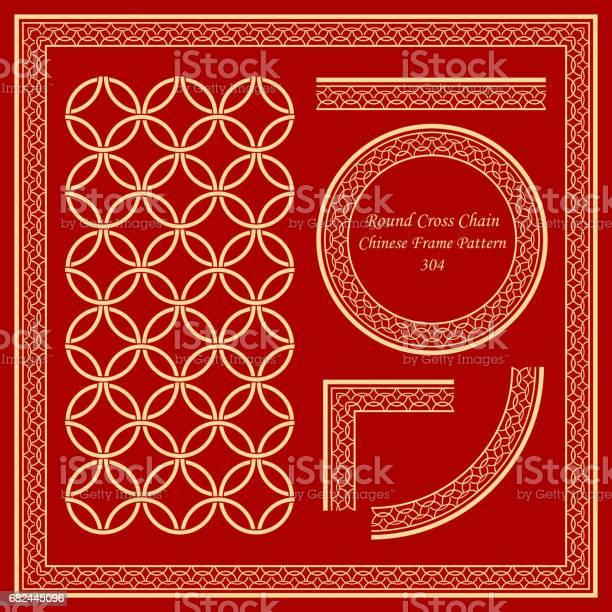 Vintage chinese frame pattern set retro round cross chain vector id682445096?b=1&k=6&m=682445096&s=612x612&h=unerrkv5lxif mcgehomeclolp5yj9 el30qod4jwzs=