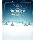 istock Vintage Christmas Background 517097725