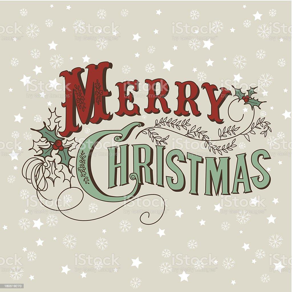 Vintage Christmas Design royalty-free vintage christmas design stock vector art & more images of backgrounds