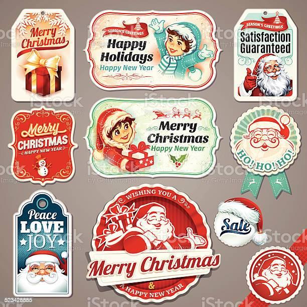 Vintage christmas labels vector id523428885?b=1&k=6&m=523428885&s=612x612&h=duzduqezwmns9wvix3od3nwxvyzms2qnzrq46g9jnji=