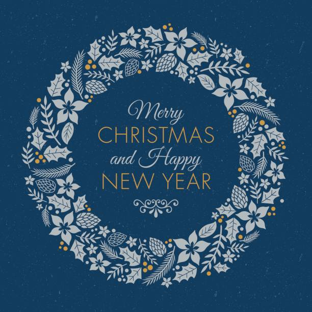 Christmas Wreath Images Free.Best Christmas Wreath Illustrations Royalty Free Vector