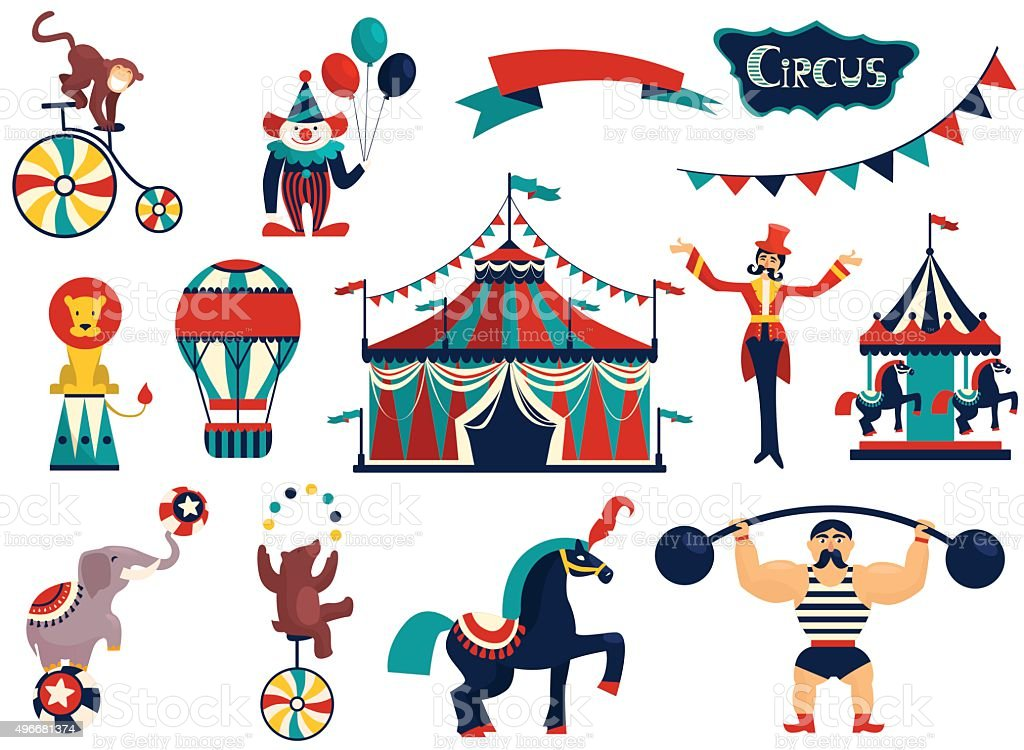royalty free ringmaster clip art vector images illustrations istock rh istockphoto com vintage circus elephant clip art Circus Theme Clip Art
