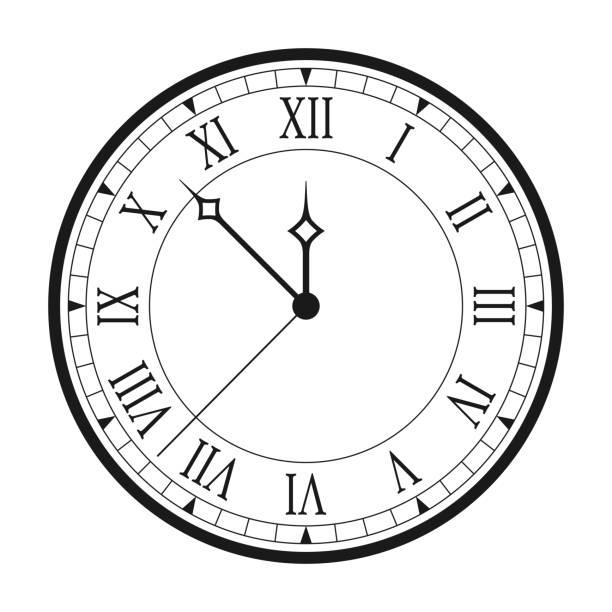 Antique Clock Face Free Vector Art 25 Free Downloads