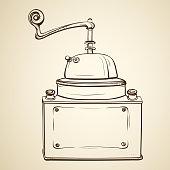 istock Vintage coffee grinder 1190141046