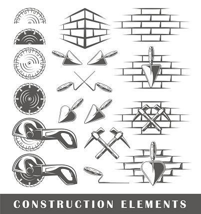 Vintage construction elements
