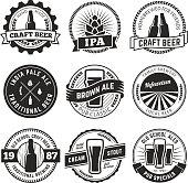 Vintage craft beer s