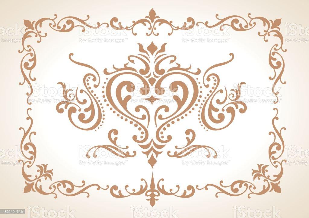ヴィンテージ装飾要素ベクトル ベクターアートイラスト