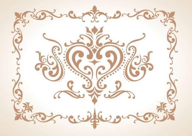 ヴィンテージ装飾要素ベクトル - 証明書と表彰のフレーム点のイラスト素材/クリップアート素材/マンガ素材/アイコン素材