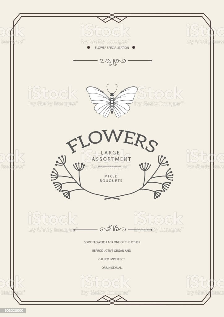 design Vintage carte - Illustration vectorielle